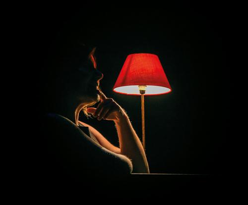 Magali lampe scène